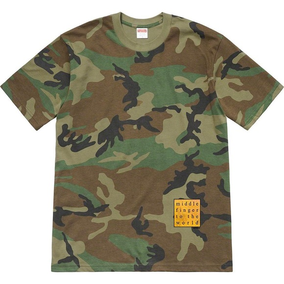 Supreme Other - Supreme Middle Finger to the World Tee